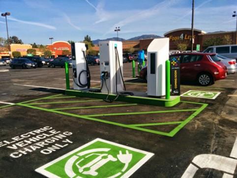 green santa clarita -- ev charging stations
