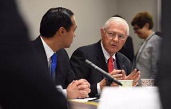 Antonovich addresses U.S. Housing & Urban Development Secretary Julian Castro