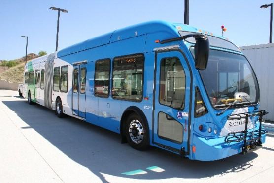 Santa Clarita Transit bus