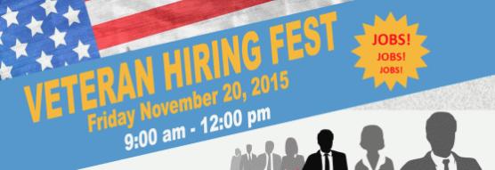 veterans hiring fest