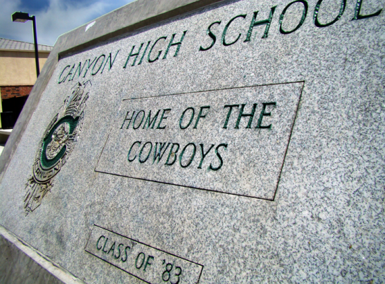 canyon high