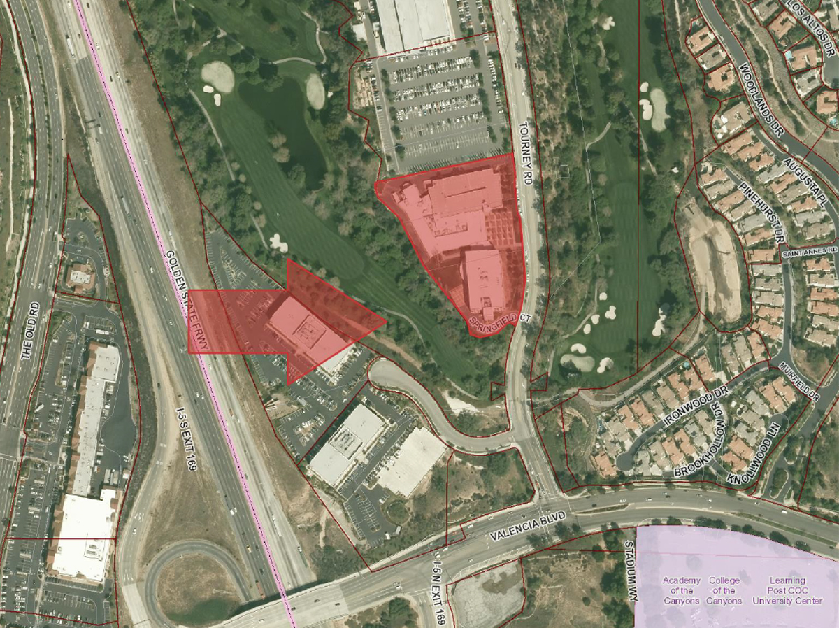 SCVNewscom New Kaiser Medical Facility Up For Approval - Kaiser west los angeles map