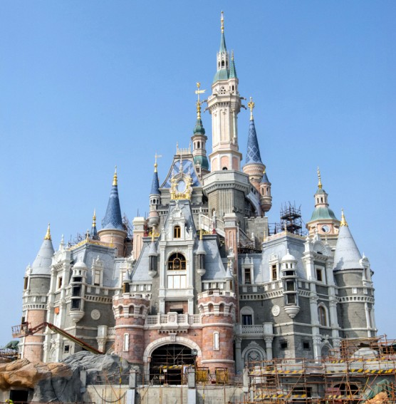 At Shanghai Disneyland, Disney stories will come to life at the tallest, largest and most interactive castle at any Disney theme park. It will offer immersive attractions, dining, shopping and spectacular entertainment, and will be the first castle in a Disney theme park that represents all the Disney princesses. (PRNewsFoto/The Walt Disney Company)
