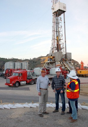 SoCalGas personnel at the Aliso Canyon storage facility. Source: SoCalGas