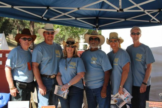 Cowboy Festival Volunteers from 2015
