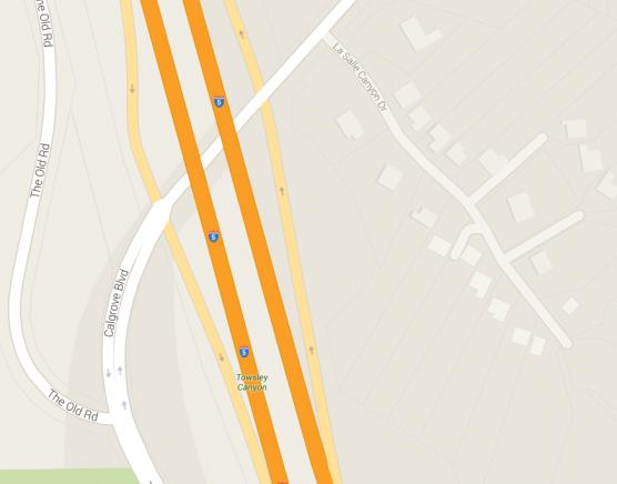 calgrove, interstate 5