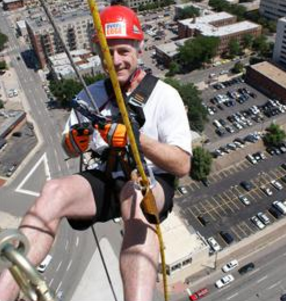 habitat for humanity over the edge