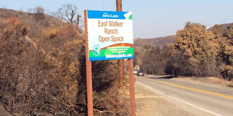 Scvnews Com Sand Fire Damage Repaired East Walker Ranch
