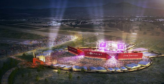 Artist Rendering of FivePoint and Live Nation Interim Amphitheater (PRNewsFoto/FivePoint)