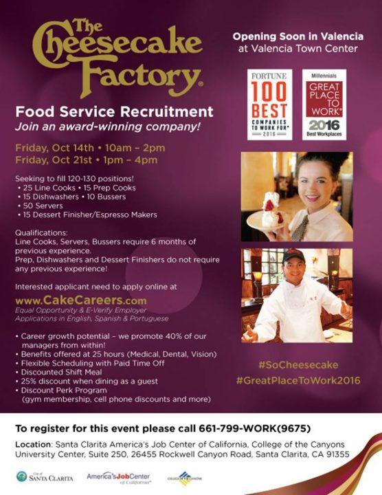 cheesecake-factory-recruitment-october-2016