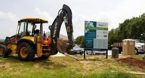 Construction of Family Promise Fort Bend Day Center in Houston underway. (PRNewsFoto/HomeAid America)