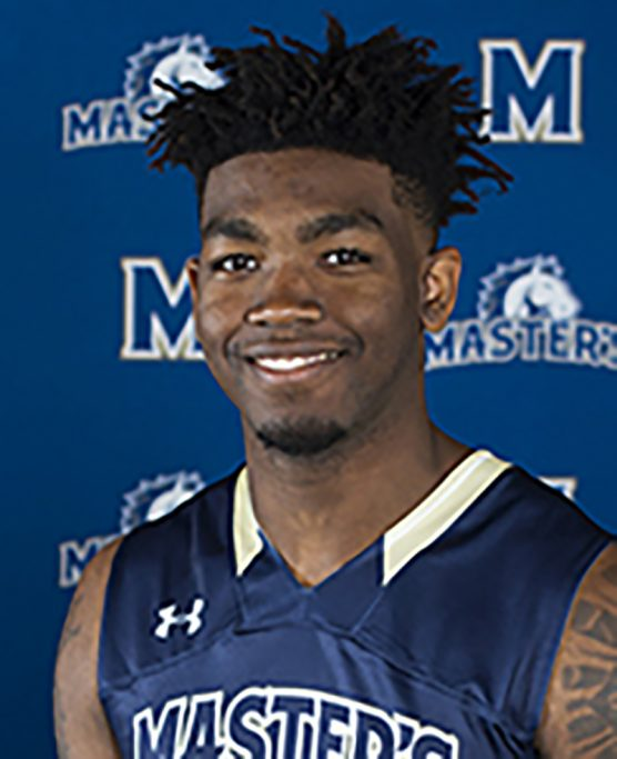 TMU basketball player Lawrence Russell