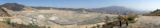 Sunshine Canyon Landfill in August 2016. Photo courtesy of Sunshine Canyon Landfill Local Enforcement Agency.