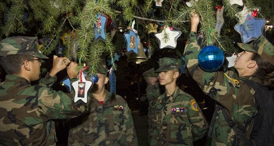 Prayer Angels For The Military Host Military Honor Christmas Tre