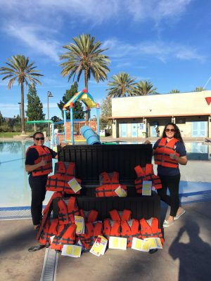 Life jacket and Swim Lesson Grant