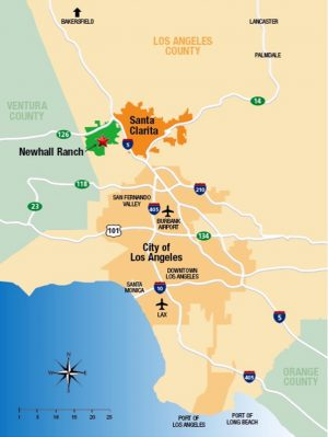 newhallranchlocationmap