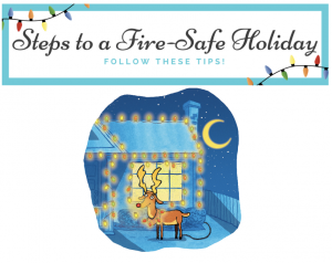 fire safe holiday steps