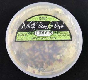 Trader Joes White Bean and Basil Hummus
