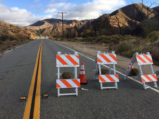 Bouquet Canyon Road closure file photo