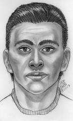 Lancaster harassment suspect sketch