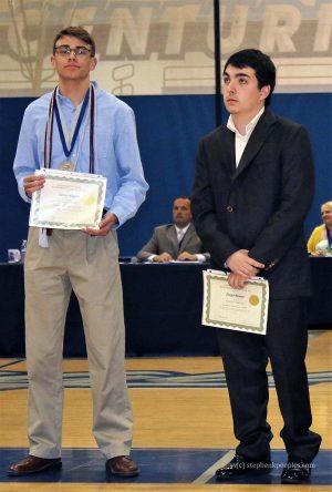 Rod Bennett Scholarships - James Klipfel and Diego Rumer