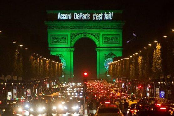 Arc de Triomphe - Paris Climate Change Agreement