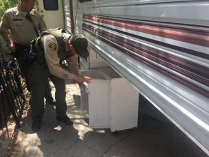 Sand Canyon drug and stolen property bust