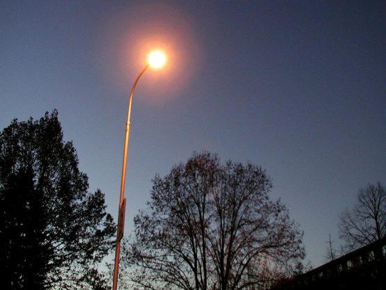 city streetlight