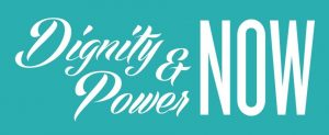 Dignity and Power Now logo