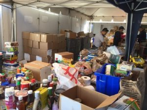 SCV Food Pantry donations
