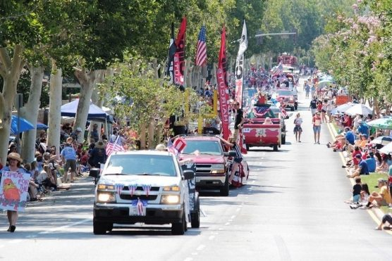 Santa Clarita Fourth of July parade