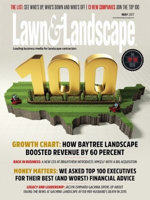 Lawn & Landscape Magazine May 2017 cover