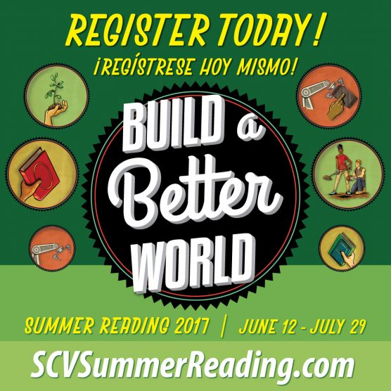 Santa Clarita Public Library 'Build a Better World' summer reading program