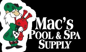 Mac's Pool & Spa Supply logo
