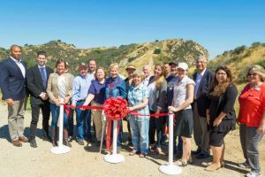 Santa Clarita open space ribbon-cutting in Newhall Pass