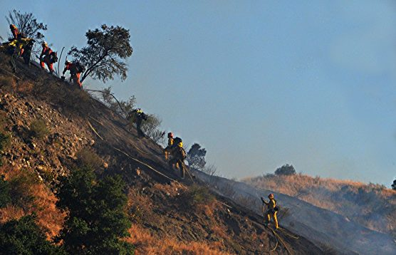 Placerita brushfire Mike McClure 4a