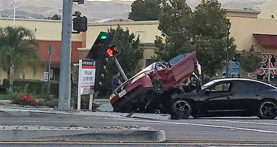 DUI crash in Canyon Country