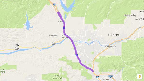 SCVNewscom Updated August Caltrans Closes I From Am - Caltrans traffic map