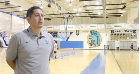 Saugus High Boys' Basketball Coach Alfredo Manzano