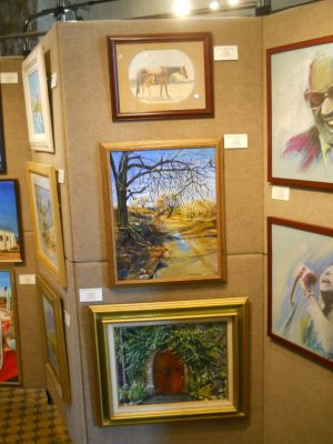 SCAA paintings on display at Tournament Players Club Valencia