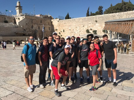 COC Basketball in Israel