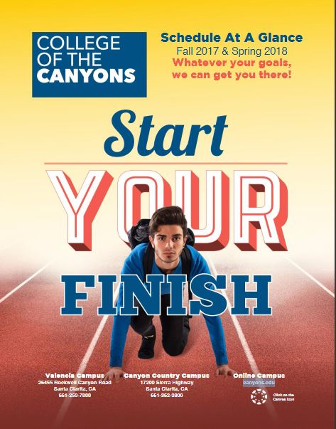 Start your finish at College of the Canyons