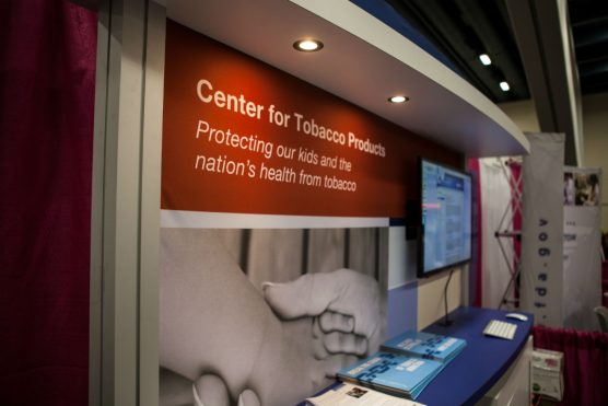 FDA Center for Tobacco Products booth