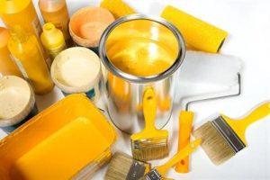 hazardous household waste - paint
