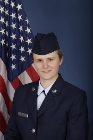 U.S. Air Force Airman Katherine Kassenbaum