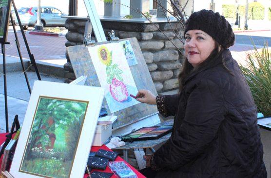 Santa Clarita artist Laurie Morgan