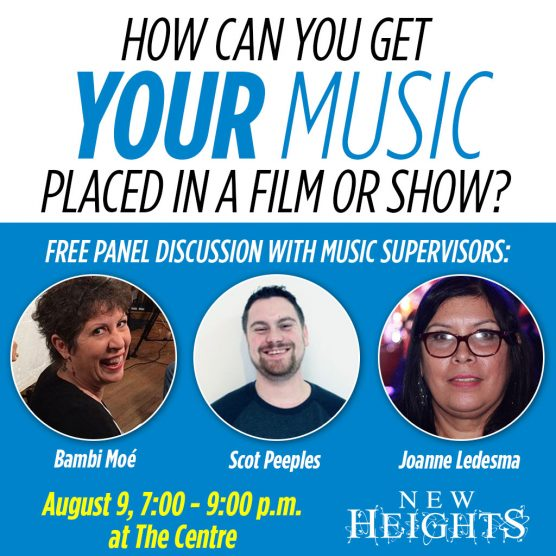 New Heights Music Supervisors Panel