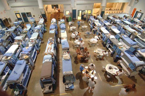 Inside a California state prison