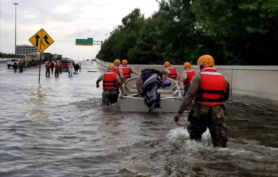 Texas Army National Guard rescues residents in Houston after Hurricane Harvey. | Photo: 1st Lt. Zachary West/WMC