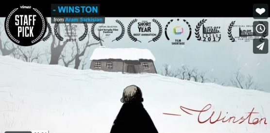 'Winston' animated short by Aram Sarkisian nominated for Student Academy Award